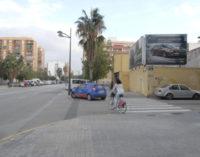Este dimarts es van posar en marxa les obres del carril bici que connectarà Malilla amb el centre