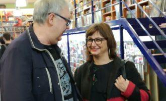 Amoraga ha visitat les llibreries premiades per la Generalitat en el Dia Internacional de les Llibreries