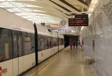Retards en la línia 7 de Metrovalencia per problemes tècnics