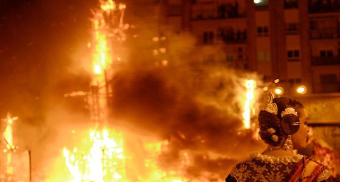 Les Falles de València declarades Patrimoni Immaterial de la Humanitat