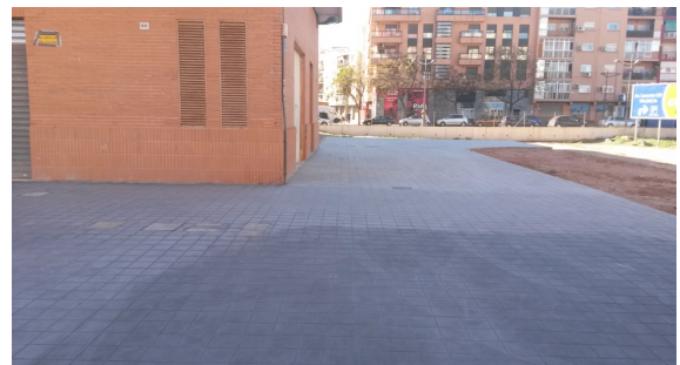 Finalitzen les obres d'urbanització en cuatre carrers de Benimàmet