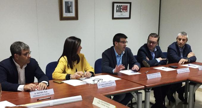 """Jorge Rodríguez: """"El comerç tindrà una línia específica per a accions en els municipis valencians"""""""