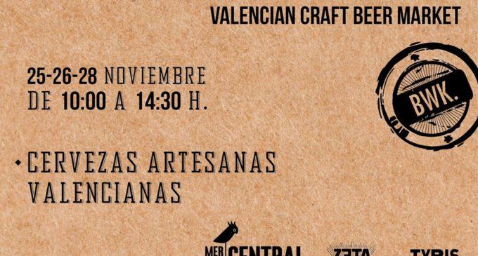 Cervezas artesanas valencianas en el Mercado Central