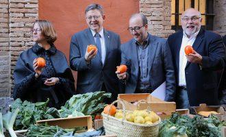 Puig aposta per convertir a l'agricultura ecològica valenciana en un referent en el mercat europeu