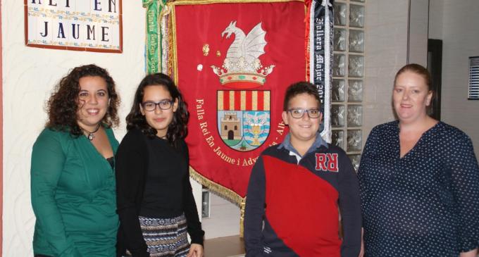 Patricia Peiró Chillida es proclama Fallera Major de la falla Rei en Jaume
