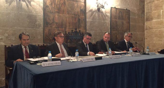 Cámara València i el Consultat de la Llotja homenatgen al Col·legi d'Agents Comercials pel seu 90 aniversari