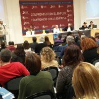 Representants d'Inclusió Social participen en un congrés estatal de Serveis Socials