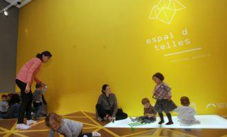 El Centre del Carme, primer centre d'art espanyol amb un espai permanent per a la primera infància