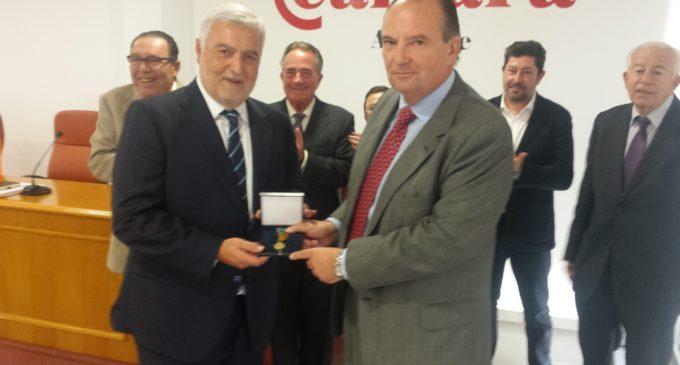 Enrique Garrigós i Félix Cerdán reben la medalla d'Or al Mèrit