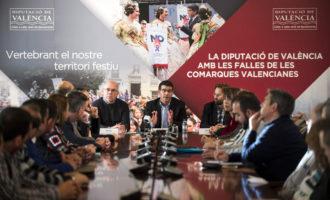 Jorge Rodríguez anuncia ajudes extraordinàries a les Falles si la UNESCO declara la festa Patrimoni de la Humanitat