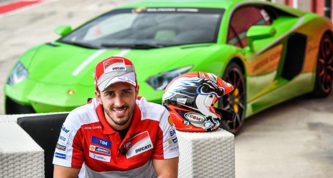 Andrea Dovizioso participarà en les Finals Mundials Lamborghini en el Circuit