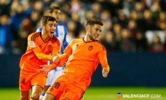 El Valencia vence al Leganés en una oportunidad para alzar el vuelo