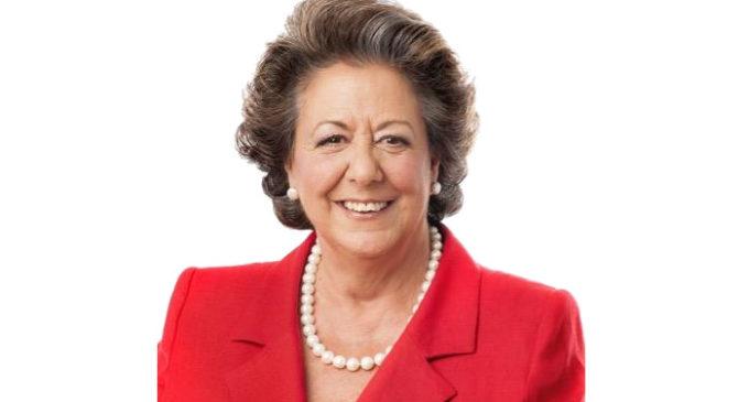 Concedeixen a Rita Barberá la 'Llave de Oro del Municipalismo'