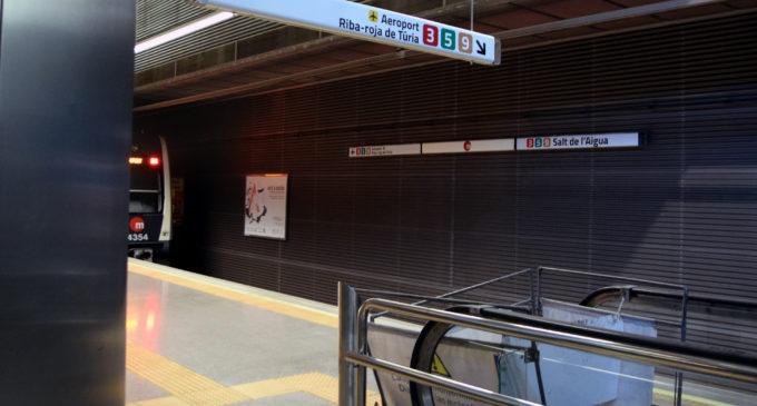 Ferrocarrils de la Generalitat licita la substitució de les escales mecàniques de l'estació de Salt de l´Aigua de Metrovalència