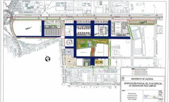Ix a informació pública la modificació del Pla Especial del Nou Campus de Tarongers, que permetrà tancar-lo