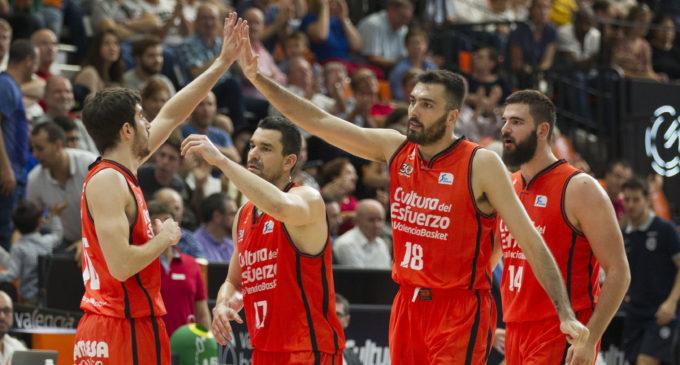 Sis dels dotze jugadors del València Basket destaquen en la Lliga Endesa