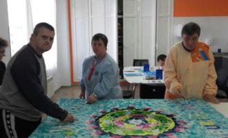 El Centre Ocupacional Buris-ana de l'IVAS col·labora en els actes institucionals contra la violència masclista