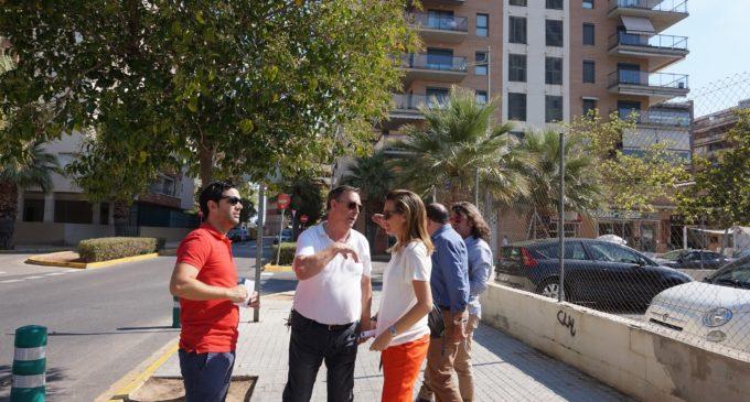 Paterna prepara l'adequació del pàrquing i l'entorn de l'antic poliesportiu Valterna Sud