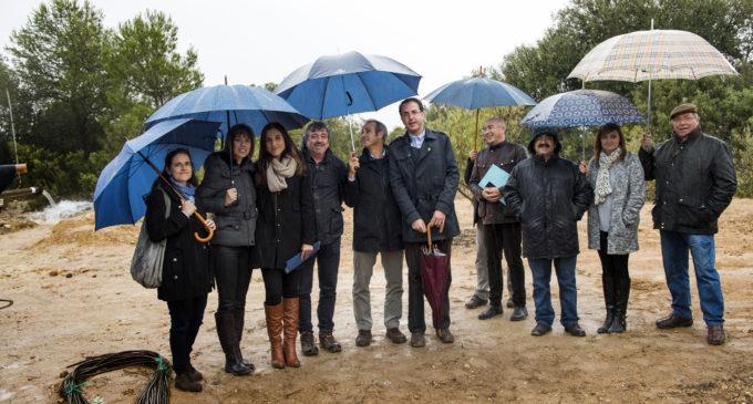 La Diputació compleix la seua responsabilitat de proveir d'aigua potable a Caudete de las Fuentes