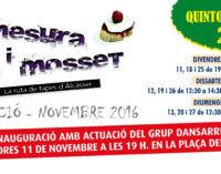 Fem un recorregut per les propostes gastronòmiques d'Alcàsser amb Mesura i Mosset 2016