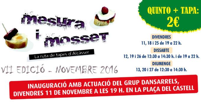 Torna una nova edició de 'Mesura i Mosset' a Alcàsser