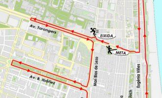 La realització de la IV Carrera Sanitas Marca Running Series causarà diverses interrupcions de trànsit durant el matí del pròxim diumenge