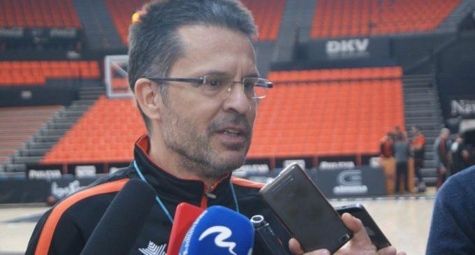 """Pedro Martínez:""""La baixa de Kravtsov ens complica però hem de pensar que l'equip va a trobar solucions"""""""
