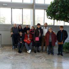 Usuaris de la residència Bennàger de l'IVAS participen en els tallers interactius CeRMúsica