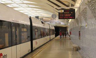 Reforç del servei nocturn de Metrovalencia per a la Gran Nit