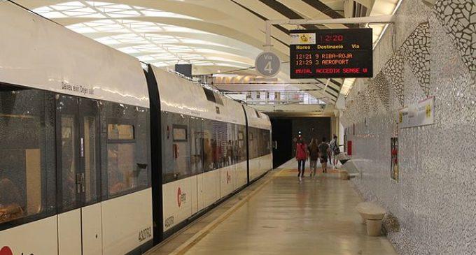El metro de València inicia el seu horari d'estiu