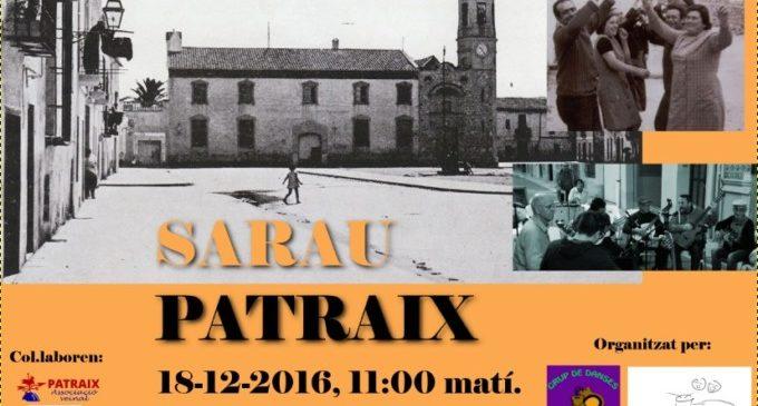 Este dissabte arriba Sarau Patraix