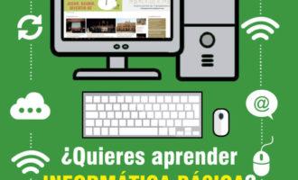 Nous cursos d'alfabetització informàtica en el Centre Díaz-Pintat