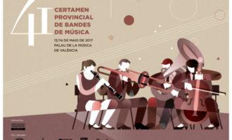 La Unió Musical de Benaguasil i la Instructiva de Tavernes de la Valldigna lluitaran pel màxim guardó al Certamen Provincial de Bandes