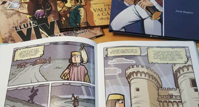 Cultura dóna llibres d'autors valencians de còmic a centres escolars de Mèxic