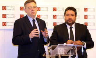 La Generalitat i la Diputació de Castelló signen un conveni per a la creació d'un cos especial de brigades d'emergència