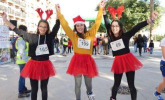 350 corredors es van disfressar en la III Sant Silvestre Jamboree Scout Alboraia