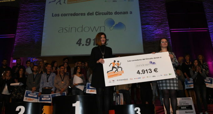 El Circuit Divina Pastora de carreres populars premia a Raquel Landin i Luis Agustin Escriche