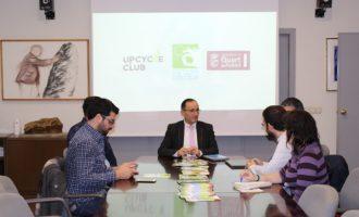 Bartolomé Nofuentes es reuneix amb socis del projecte FUPOL en la Setmana Europea de la Prevenció de Residus