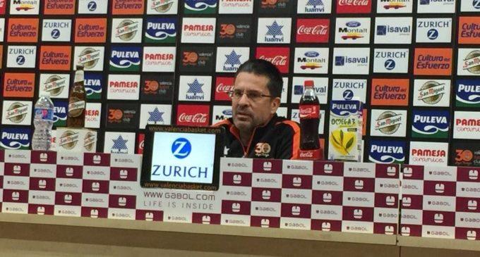 """Pedro Martínez: """"Ho veig més difícil, espere que tots siguem capaços de fer un pas avant. Hem d'agarrar-nos a l'equip"""""""