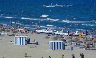 La previsió d'ocupació turística en el litoral de la Comunitat per al pont de la Immaculada supera el 62%