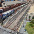 La sala Lametro de Colón exposa una maqueta amb trens a escala H0 composta per trenta mòduls