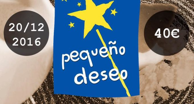 Sergi Peris organitza un sopar a benefici de la Fundació Pequeño Deseo