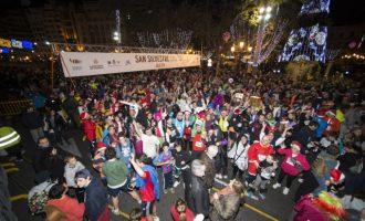 Més de 17.000 persones acomiadaran l'any amb la XXXV Sant Silvestre Popular Valenciana