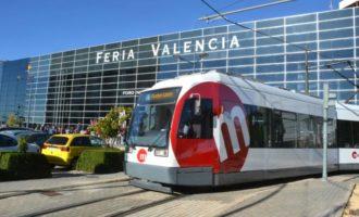 Metrovalencia ofereix servei especial de tramvia per a acudir a la Fira de l'Automòbil i Vehicle d'Ocasió