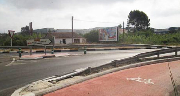 Carreteres destina 130.700 euros a millorar la mobilitat de vianants i ciclistes a La Vall d'Albaida