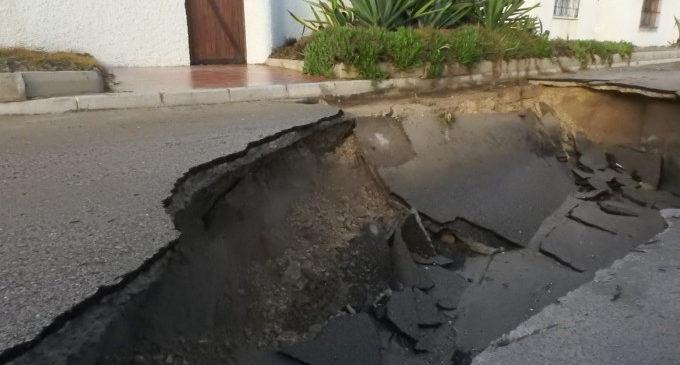 El Ayuntamiento exige la reparación inmediata de los daños ocasionados por el temporal en la zona de la Casbah