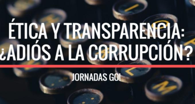 L'ètica política i social contra la corrupció, a debat en la pròxima Jornada GO!