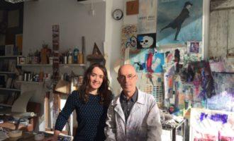 El pintor valencià Javier Chapa dóna una de les seues obres a la ciutat de València