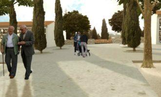 Ontinyent presenta el proyecto que dignificará el patio 3 del cementerio municipal