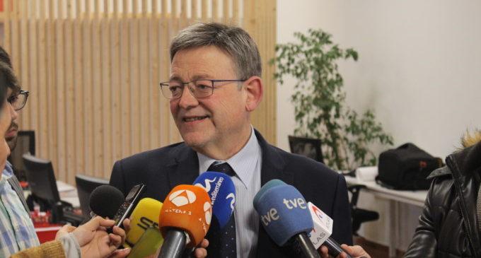 """Ximo Puig: """"Estabilitat, honradesa i diàleg han de ser els pilars bàsics en l'actualització del Pacte del Botànic"""""""